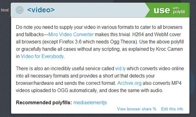 HTML5Please Video