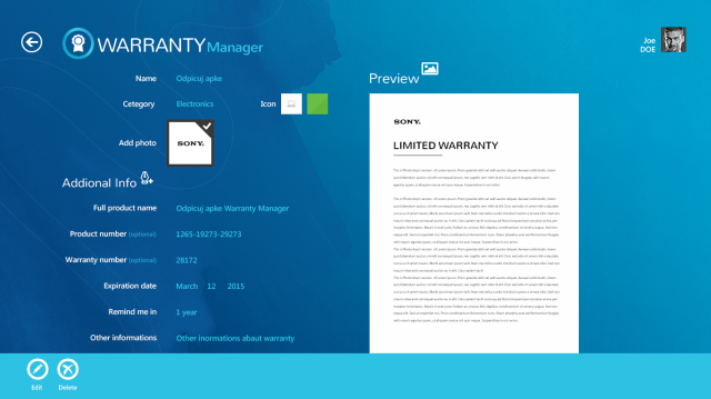 warranty-manager-—-fullview-preview-appbar