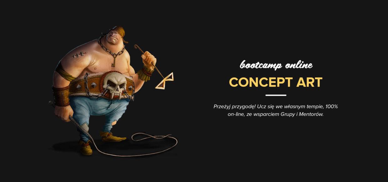 Już w sobotę startuje Concept Art Bootcamp!