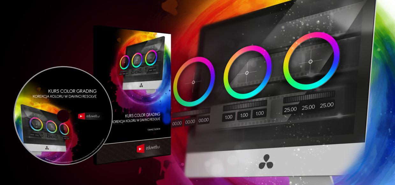Kurs Color Grading – Korekcja Koloru w DaVinci Resolve już dostępny!