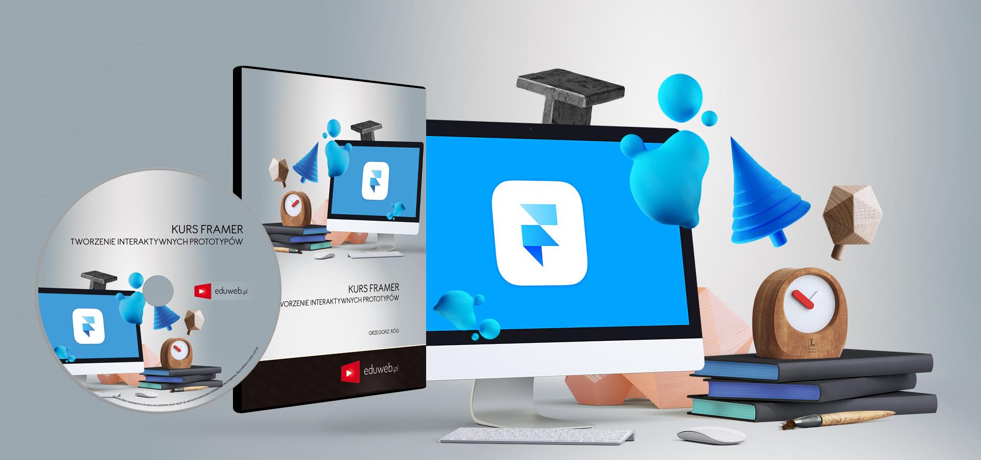 Kurs Framer– Tworzenie Interaktywnych Prototypów już dostępny!